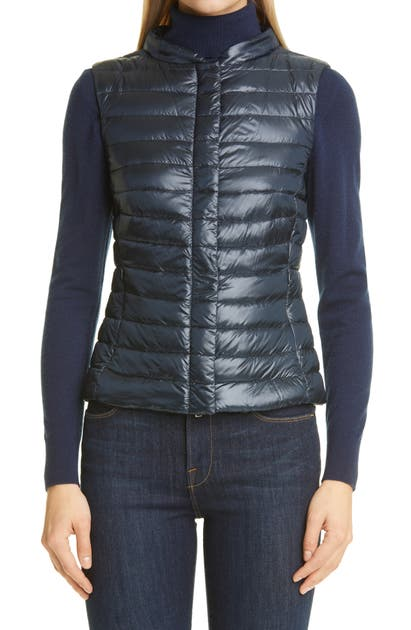 Herno Downs FITTED WATER RESISTANT DOWN PUFFER VEST