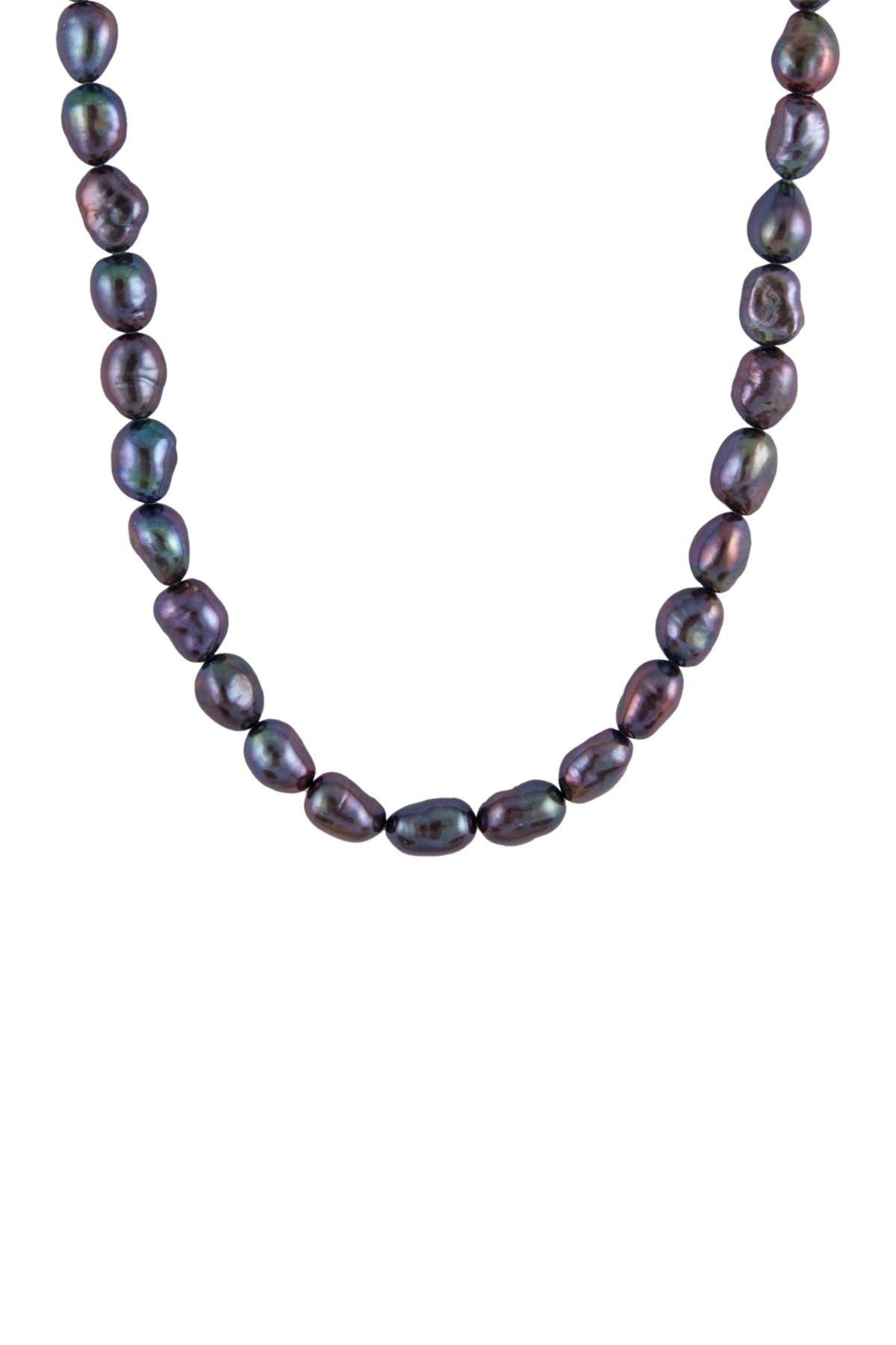 Image of Splendid Pearls Black Pearl Necklace