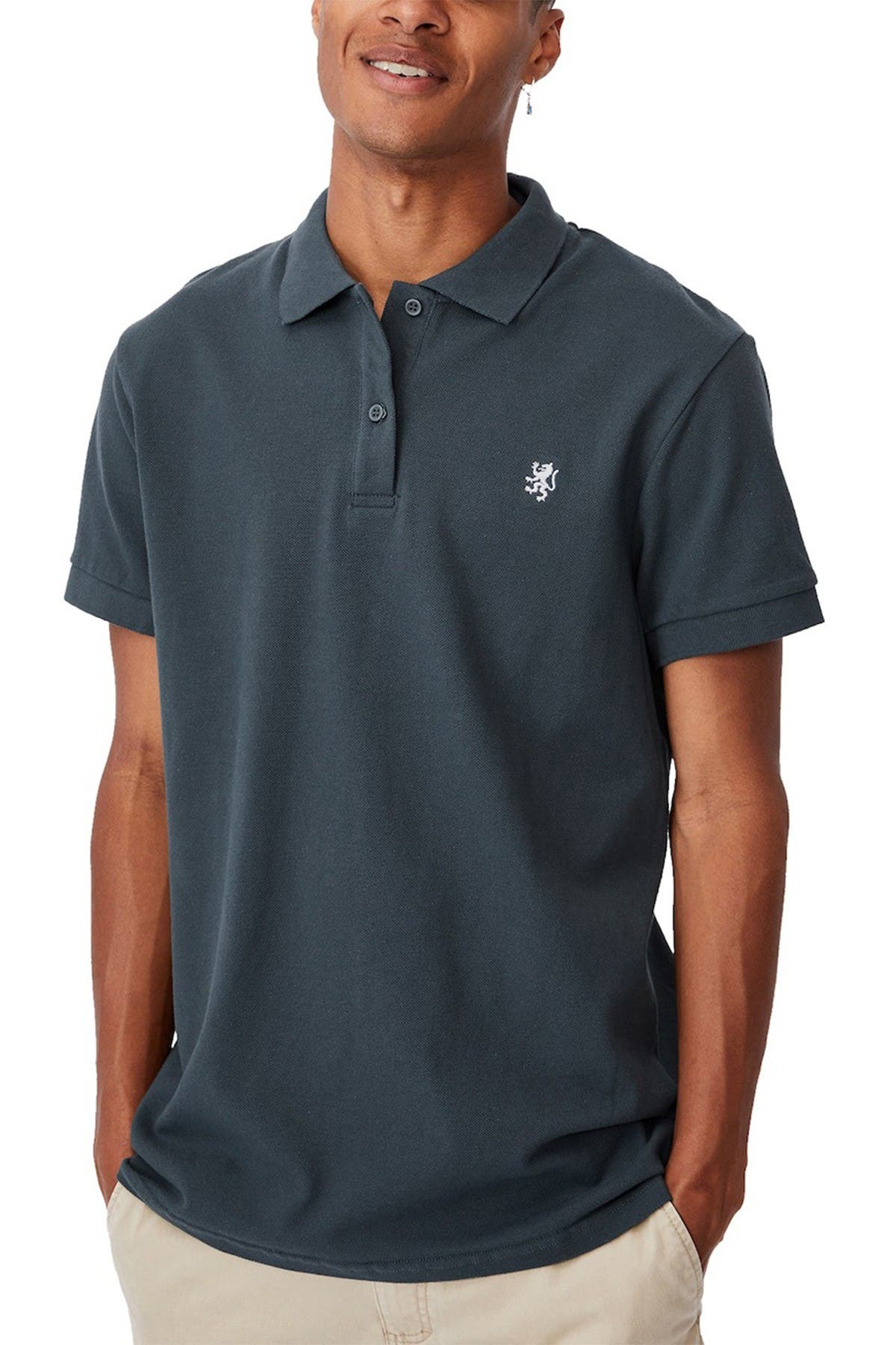 Cotton On ESSENTIAL SHORT SLEEVE POLO