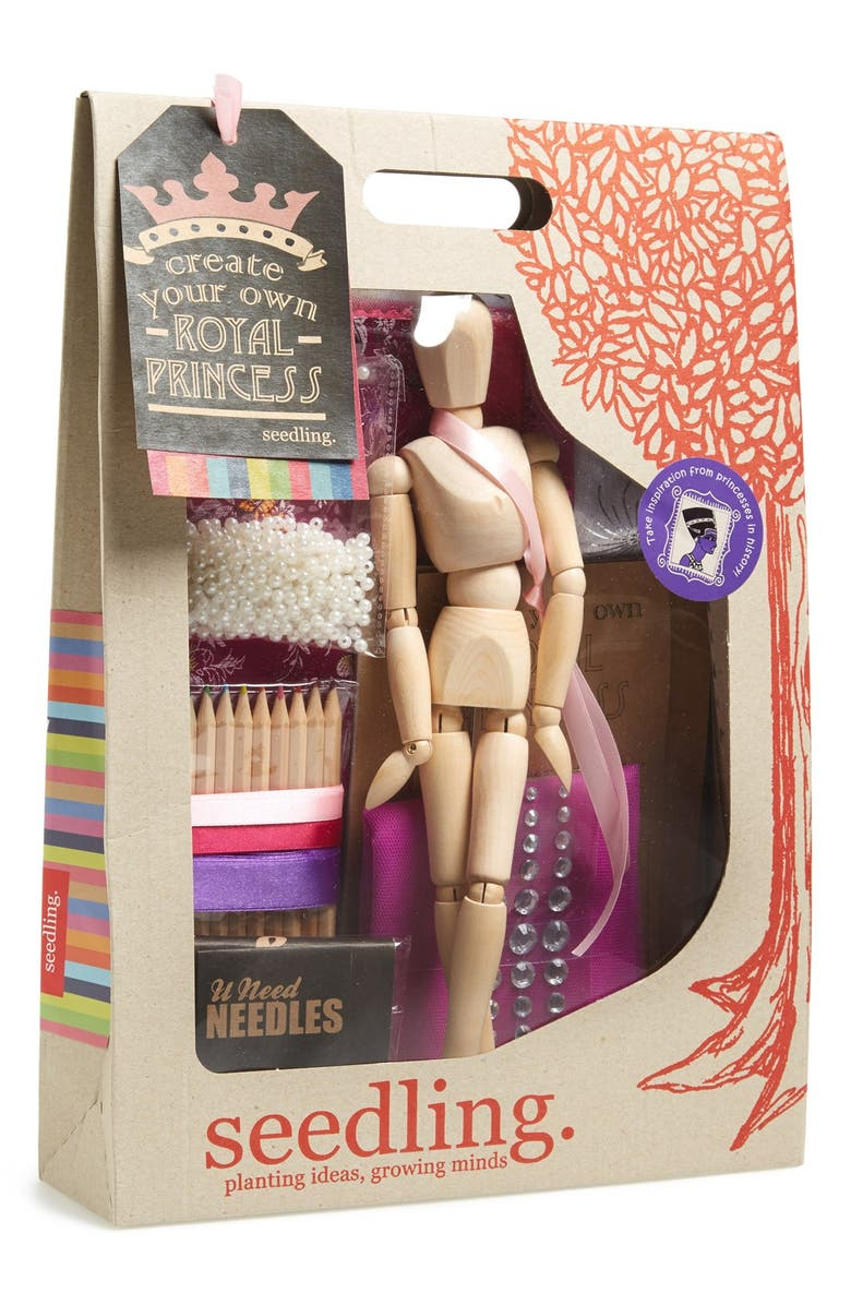 SEEDLING 'Create Your Own Royal Princess' Craft Kit, Main, color, 000