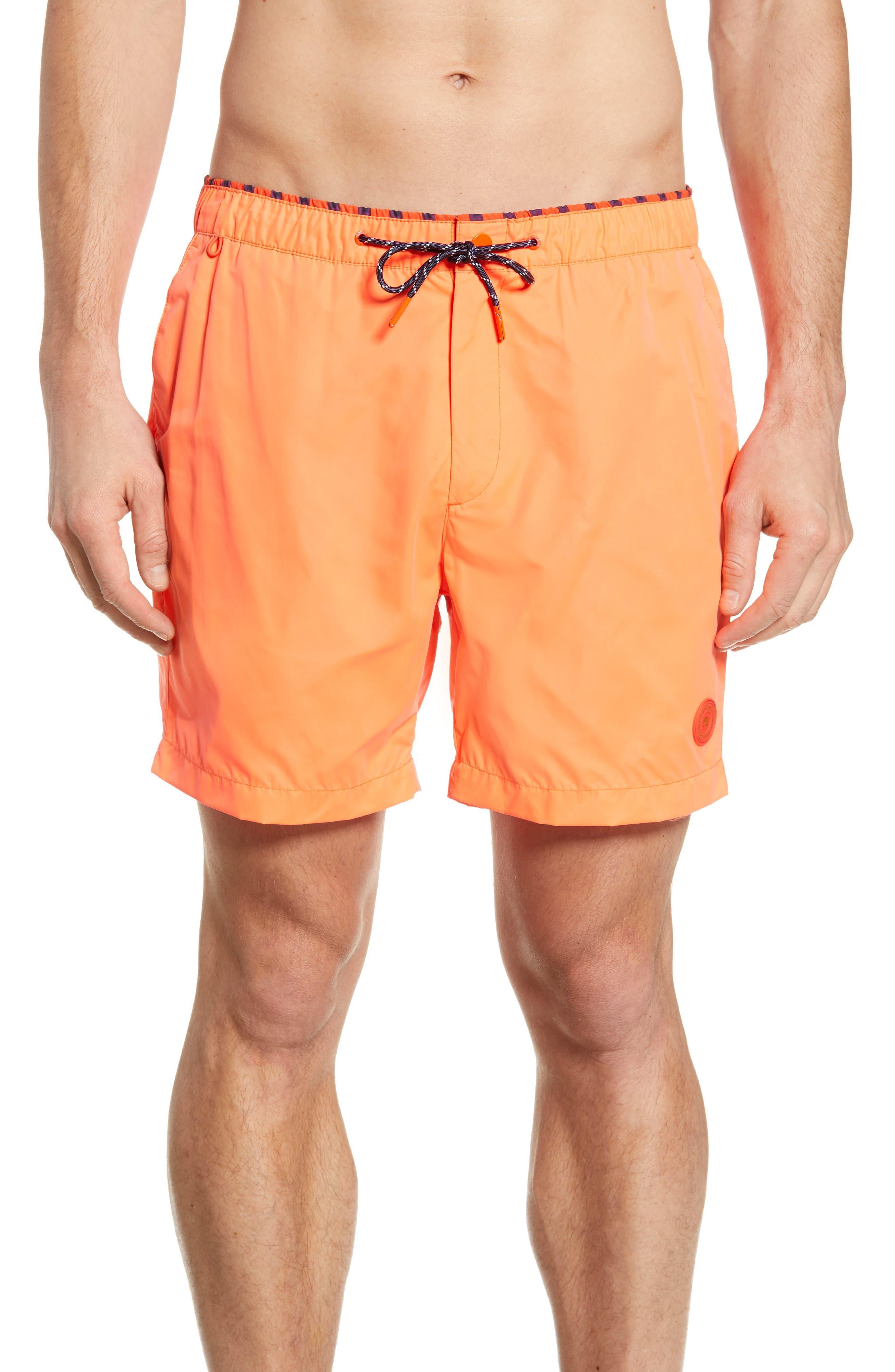 c603da9a3d Scotch & Soda Classic Colorful Swim Trunks, Orange