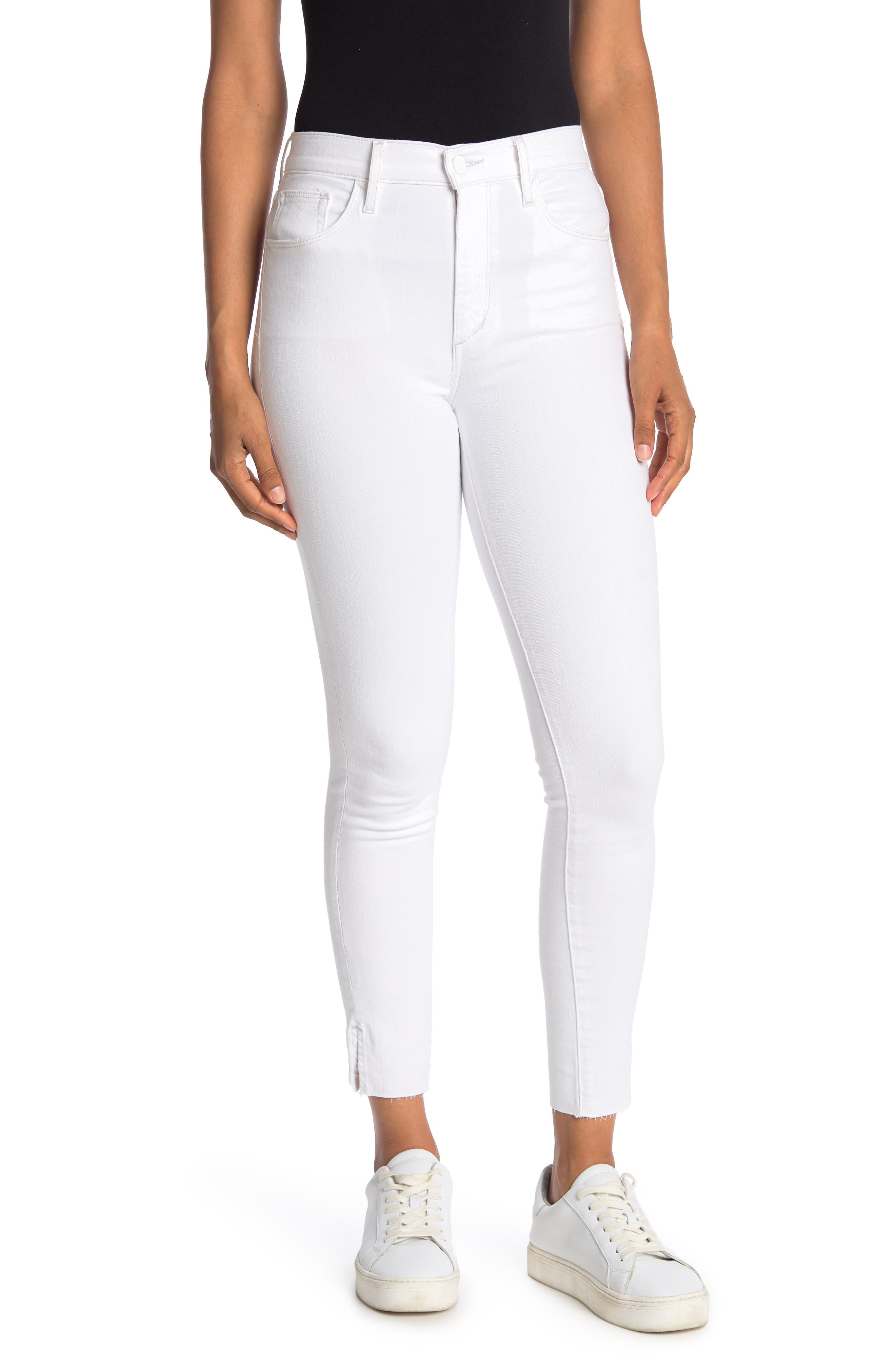 Image of Joe's Jeans High Rise Skinny Ankle Jeans