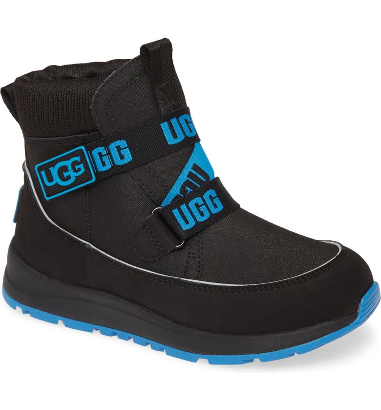 UGG<SUP>®</SUP> Tabor Waterproof Bootie, Main, color, BLACK