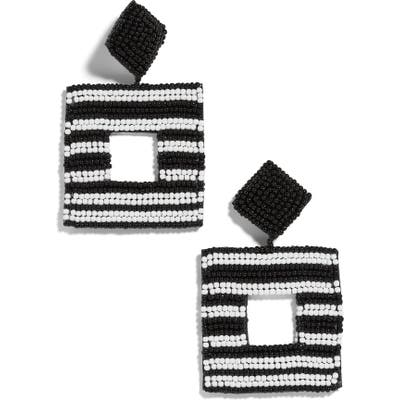 Baublebar Sarah Beaded Square Drop Earrings