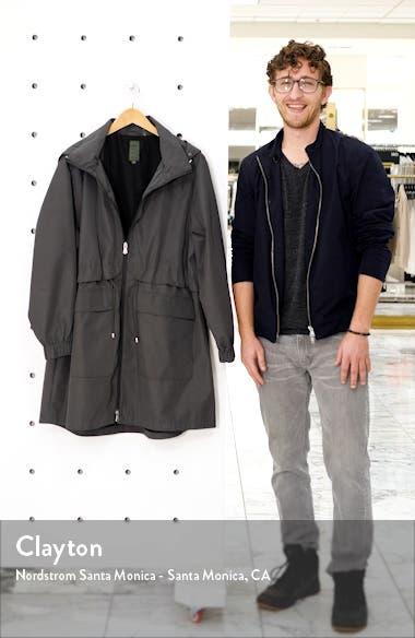 Adjustable Waist Hooded Raincoat, sales video thumbnail