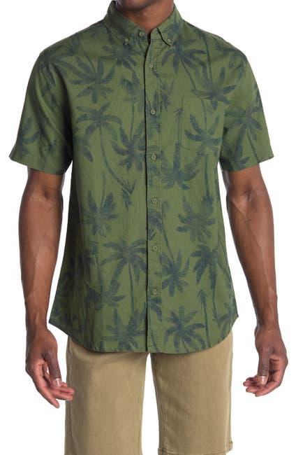 Image of Onia Jack Short Sleeve Printed Shirt