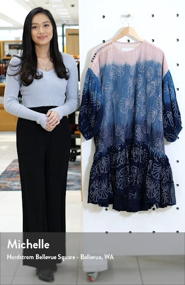 Verity Tie Dye Drop Waist Dress, sales video thumbnail