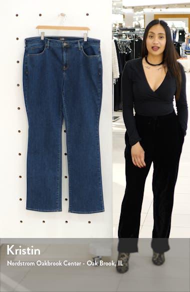 Barbara High Waist Bootcut Jeans, sales video thumbnail