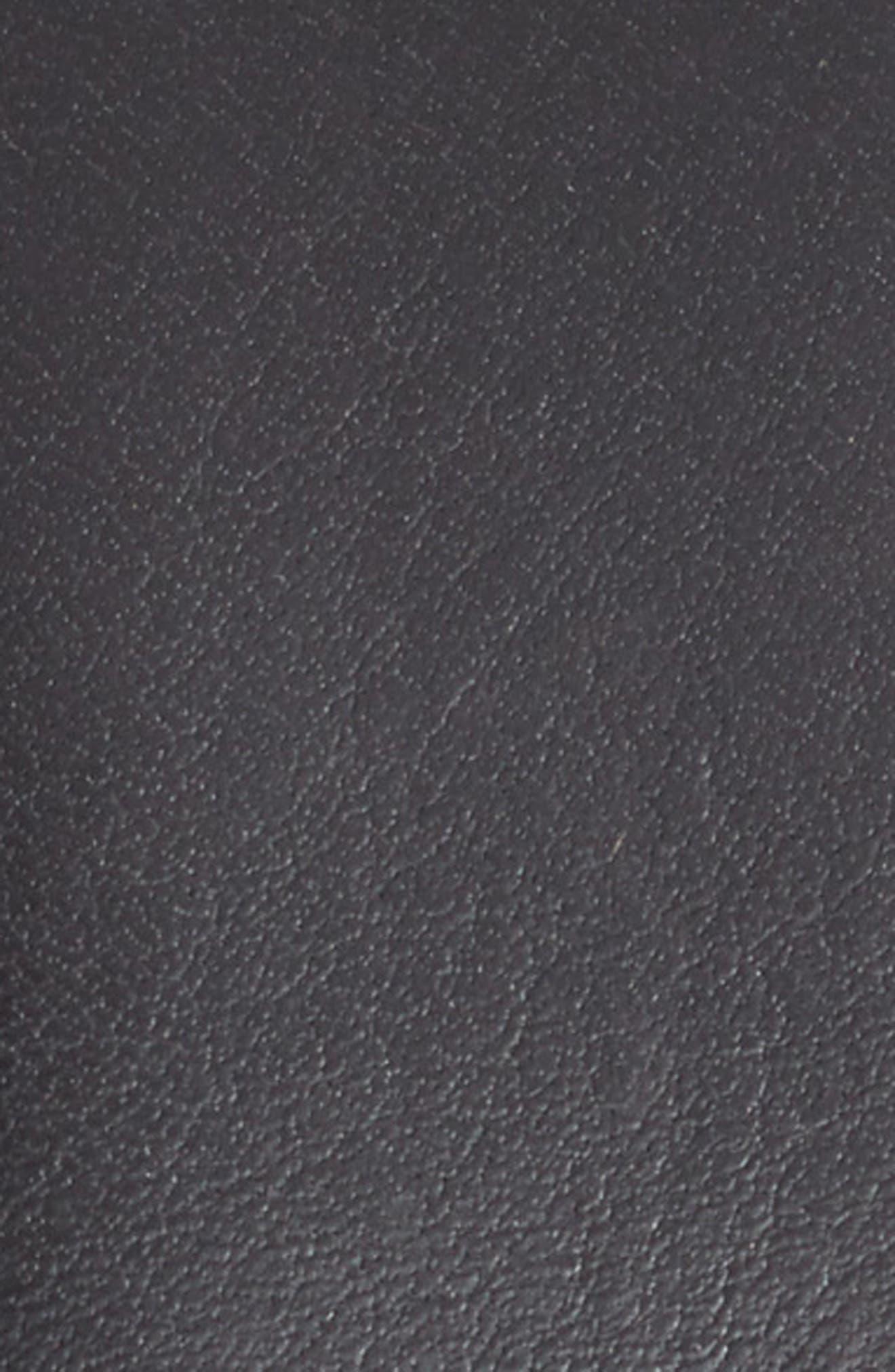 ,                             Marco Burnished Leather Belt,                             Alternate thumbnail 2, color,                             BLACK