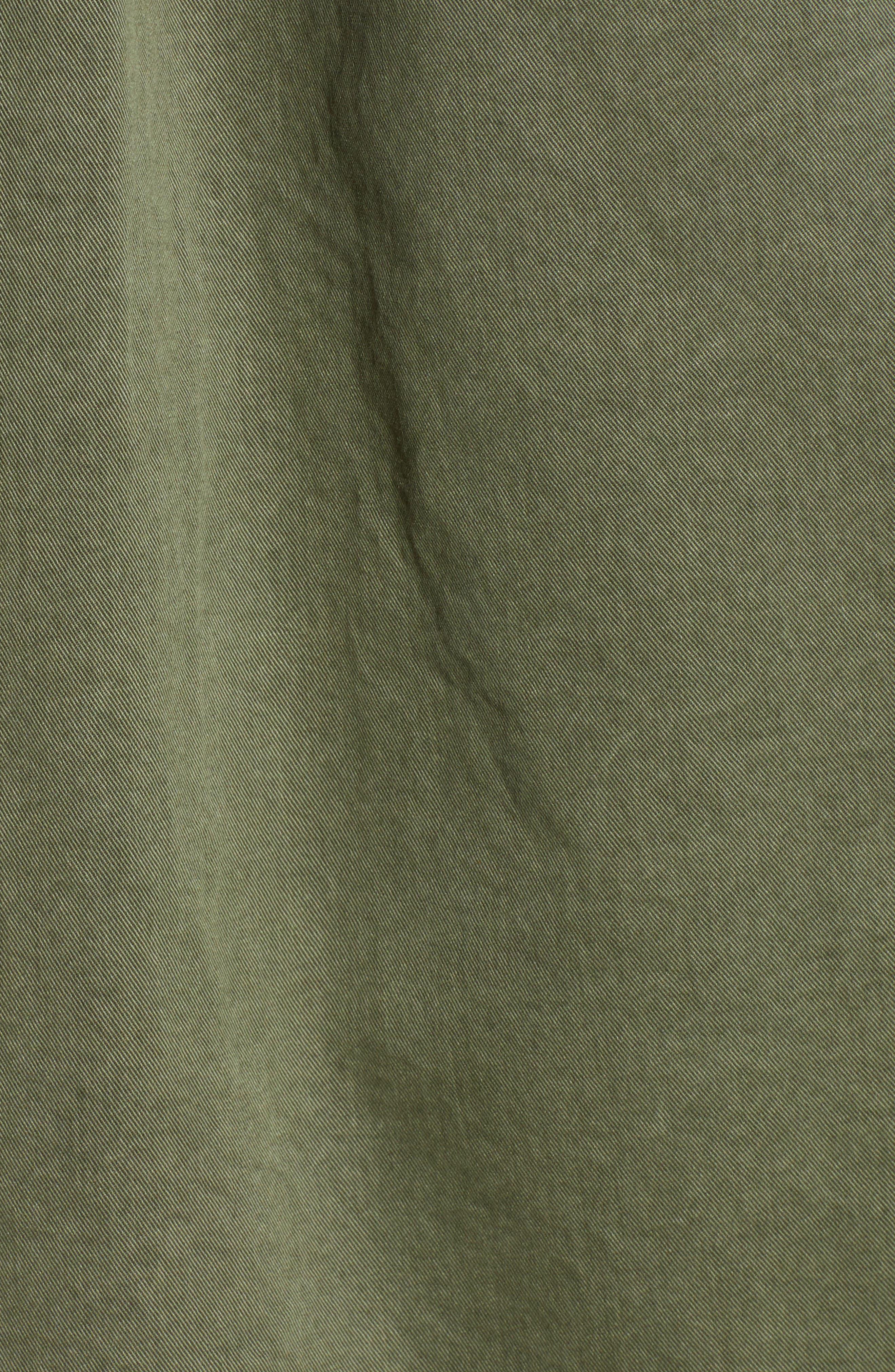 ,                             Utility Jacket,                             Alternate thumbnail 6, color,                             GREEN BEETLE