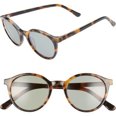 Madewell Layton Round Sunglasses - Tortoise