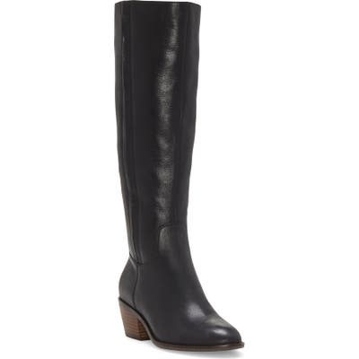 Lucky Brand Iscah Knee High Boot, Black