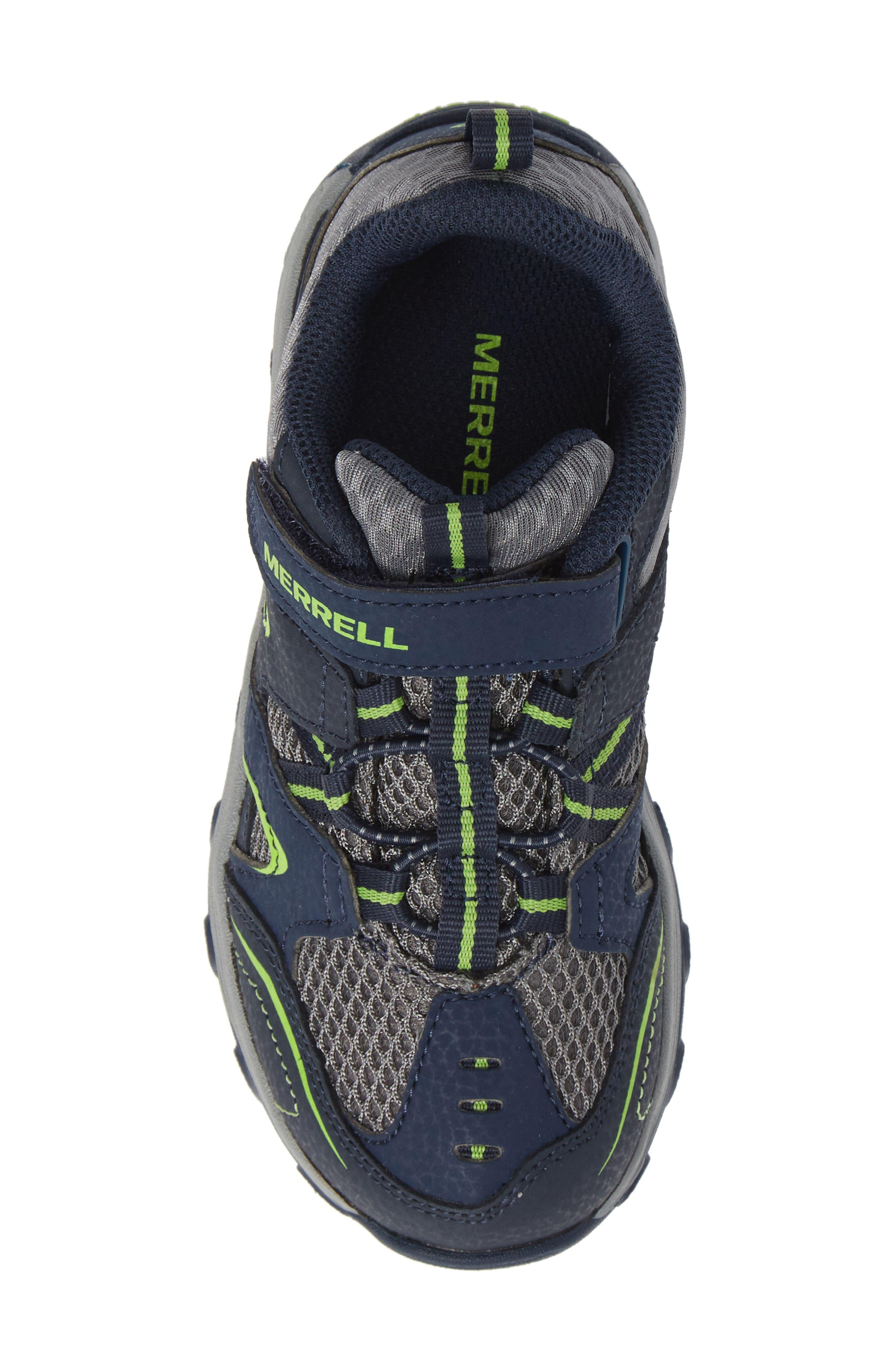 ,                             Trail Chaser Sneaker,                             Alternate thumbnail 5, color,                             NAVY/ GREEN