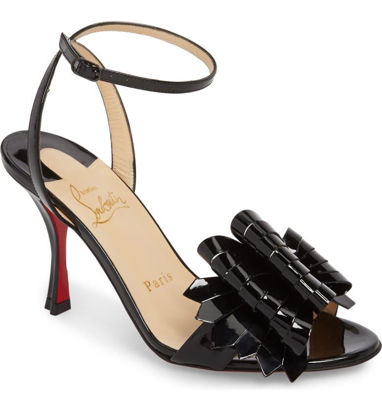 hot sale online 27d73 ee1fc Miss Valois Bow Ankle Strap Sandal