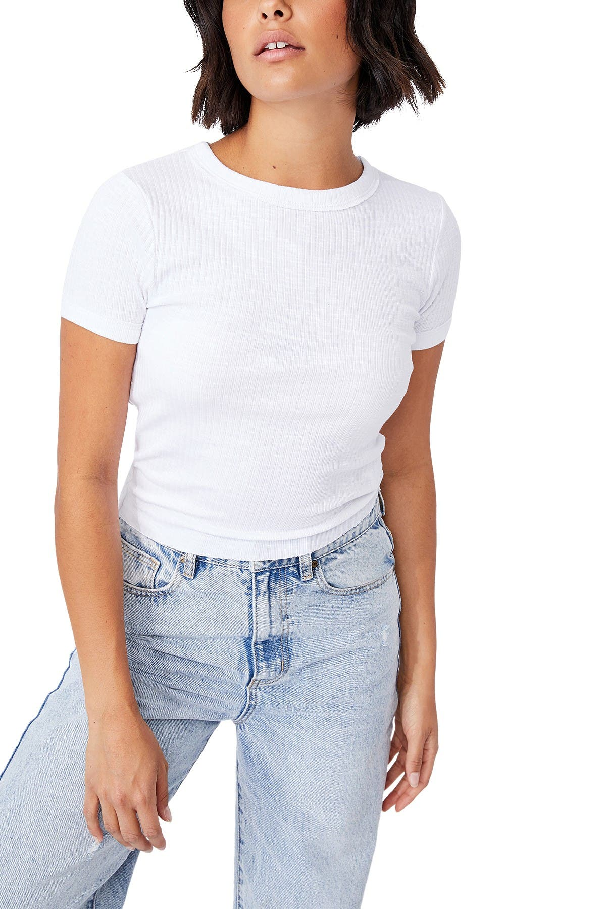 Image of Cotton On Wide Rib Tee