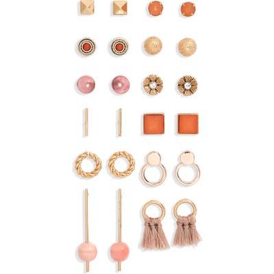 Bp. Set Of 12 Stud Earrings
