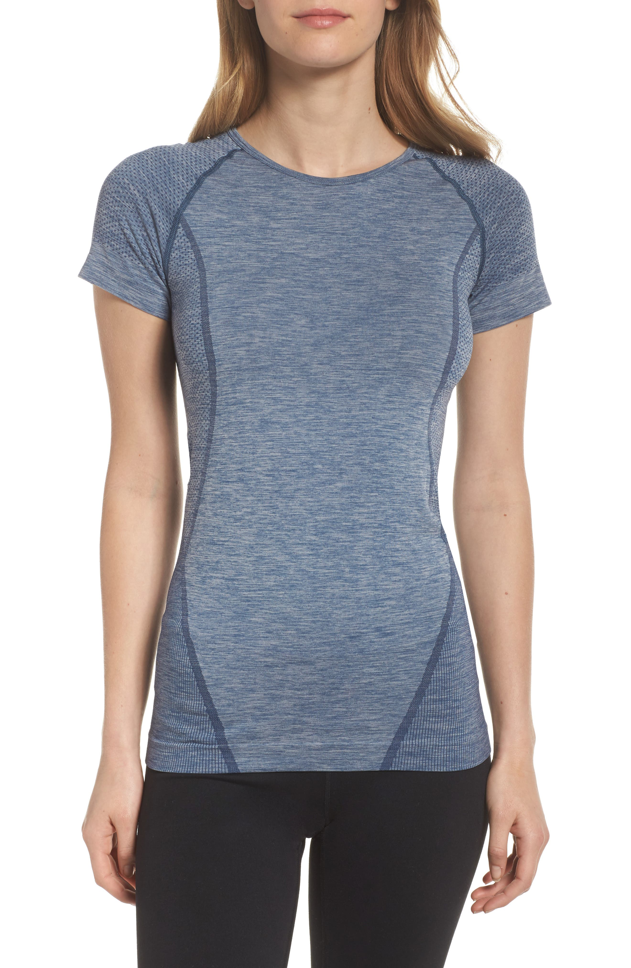 ,                             Stand Out Seamless Training Tee,                             Main thumbnail 8, color,                             401
