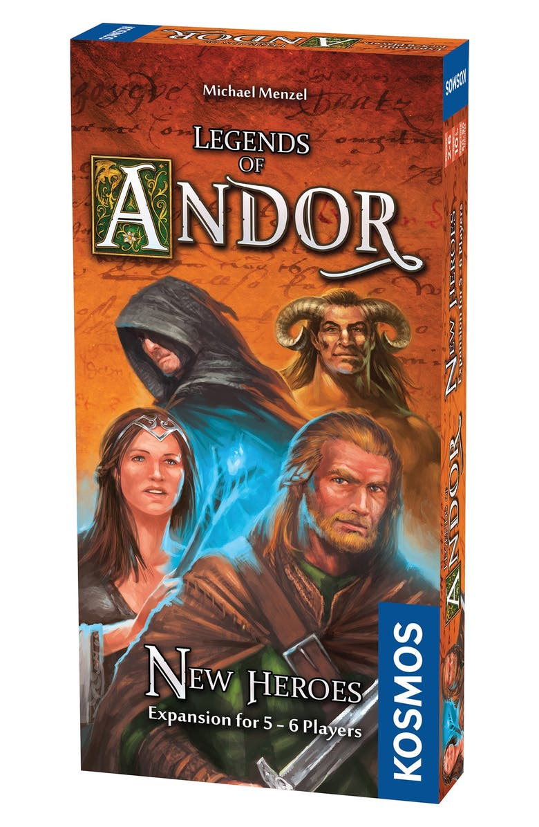 THAMES & KOSMOS 'Legends of Andor - New Heroes' Game Expansion Pack, Main, color, BROWN