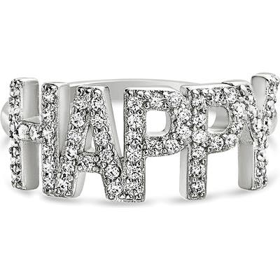 Lesa Michele Happy Cubic Zirconia Ring