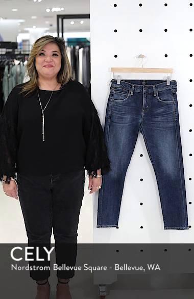 Elsa Crop Slim Jeans, sales video thumbnail