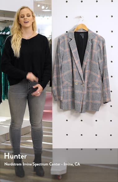Linen Single Button Blazer, sales video thumbnail