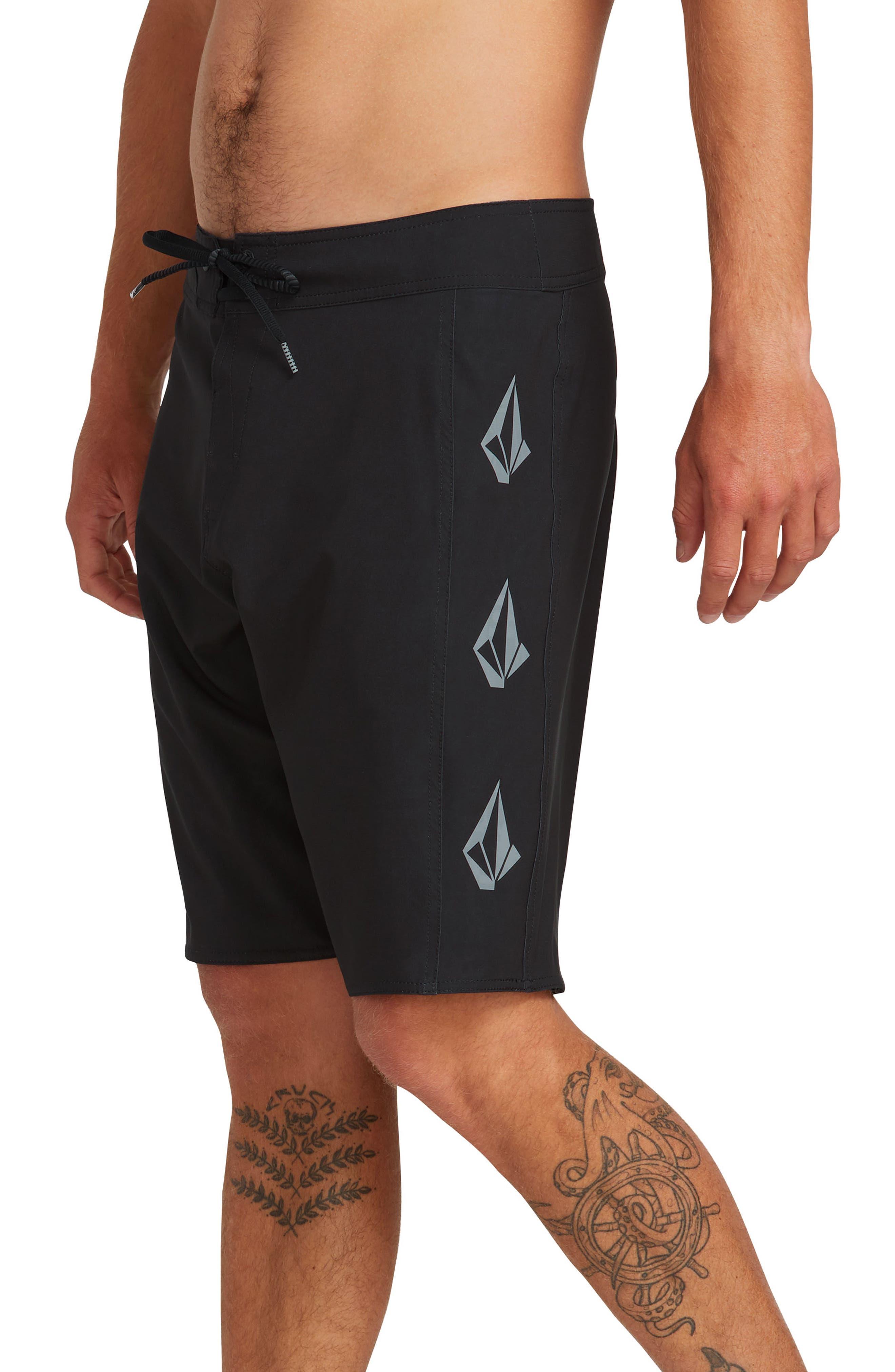 ,                             Deadly Stones 2.0 Board Shorts,                             Alternate thumbnail 3, color,                             BLACK