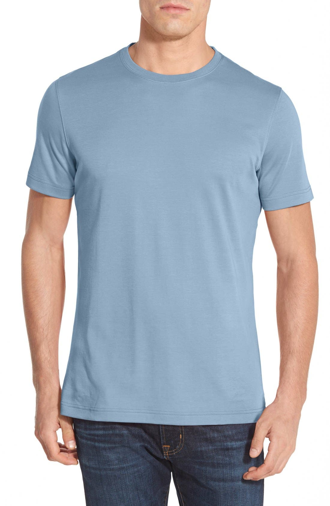 ,                             Georgia Crewneck T-Shirt,                             Main thumbnail 297, color,                             451