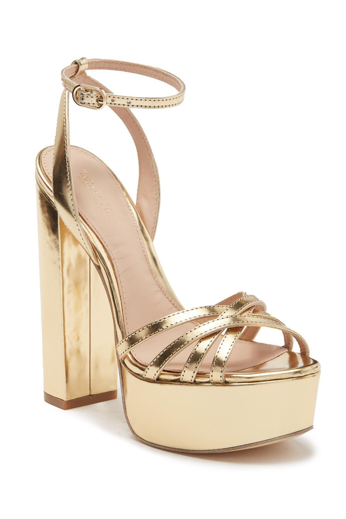 Charlotte Platform Ankle Strap Sandal