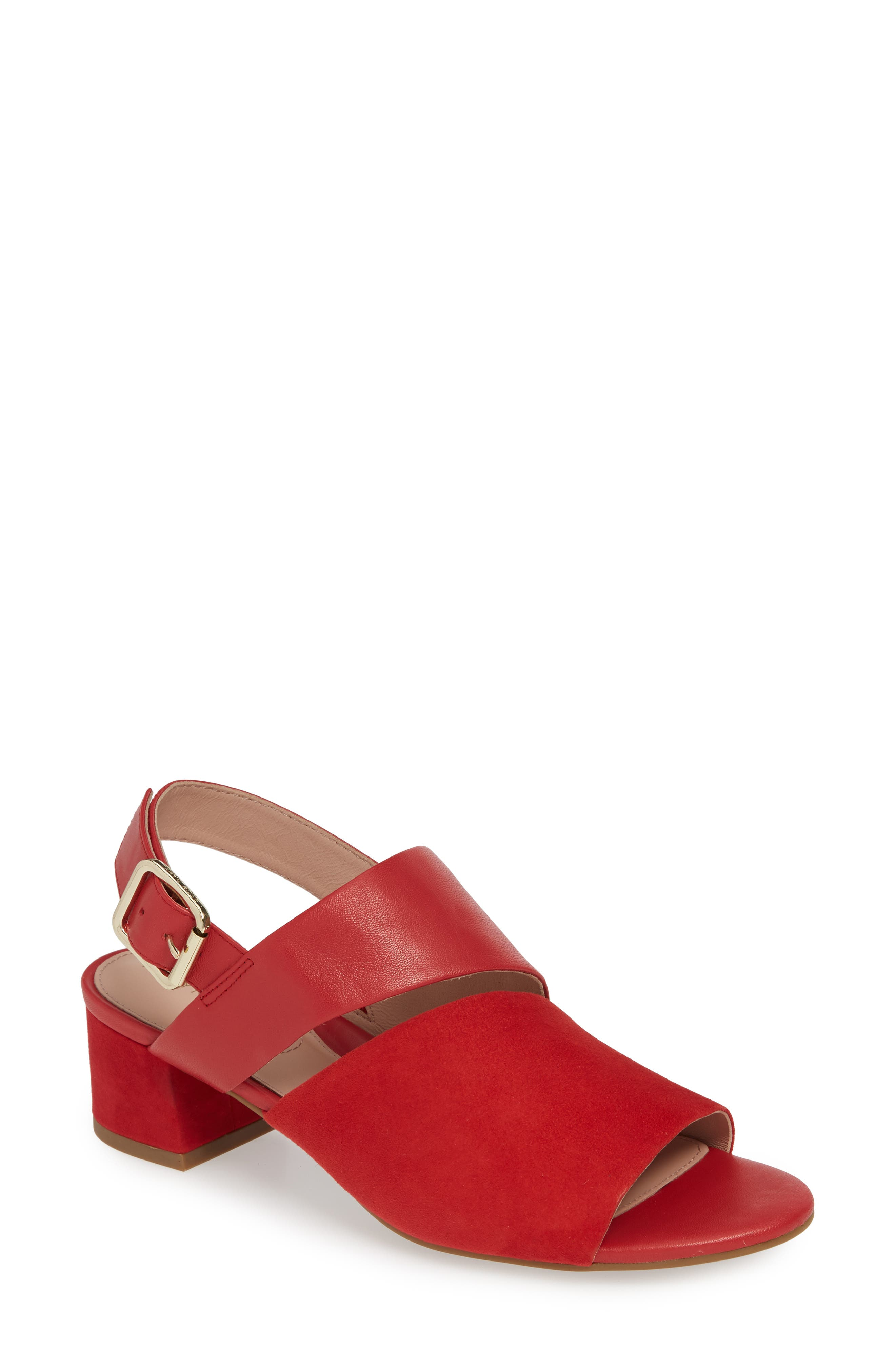 Taryn Rose Noa Sandal, Red