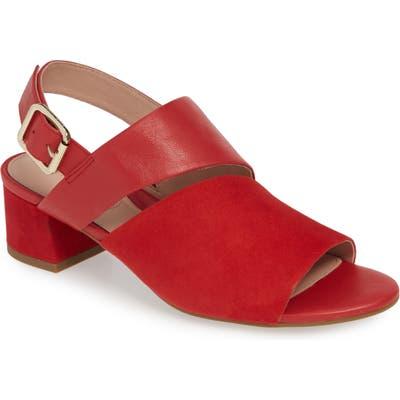 Taryn Rose Noa Sandal- Red