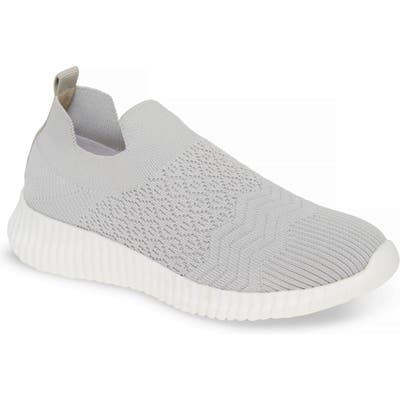 David Tate Tiptop Knit Sneaker- Grey