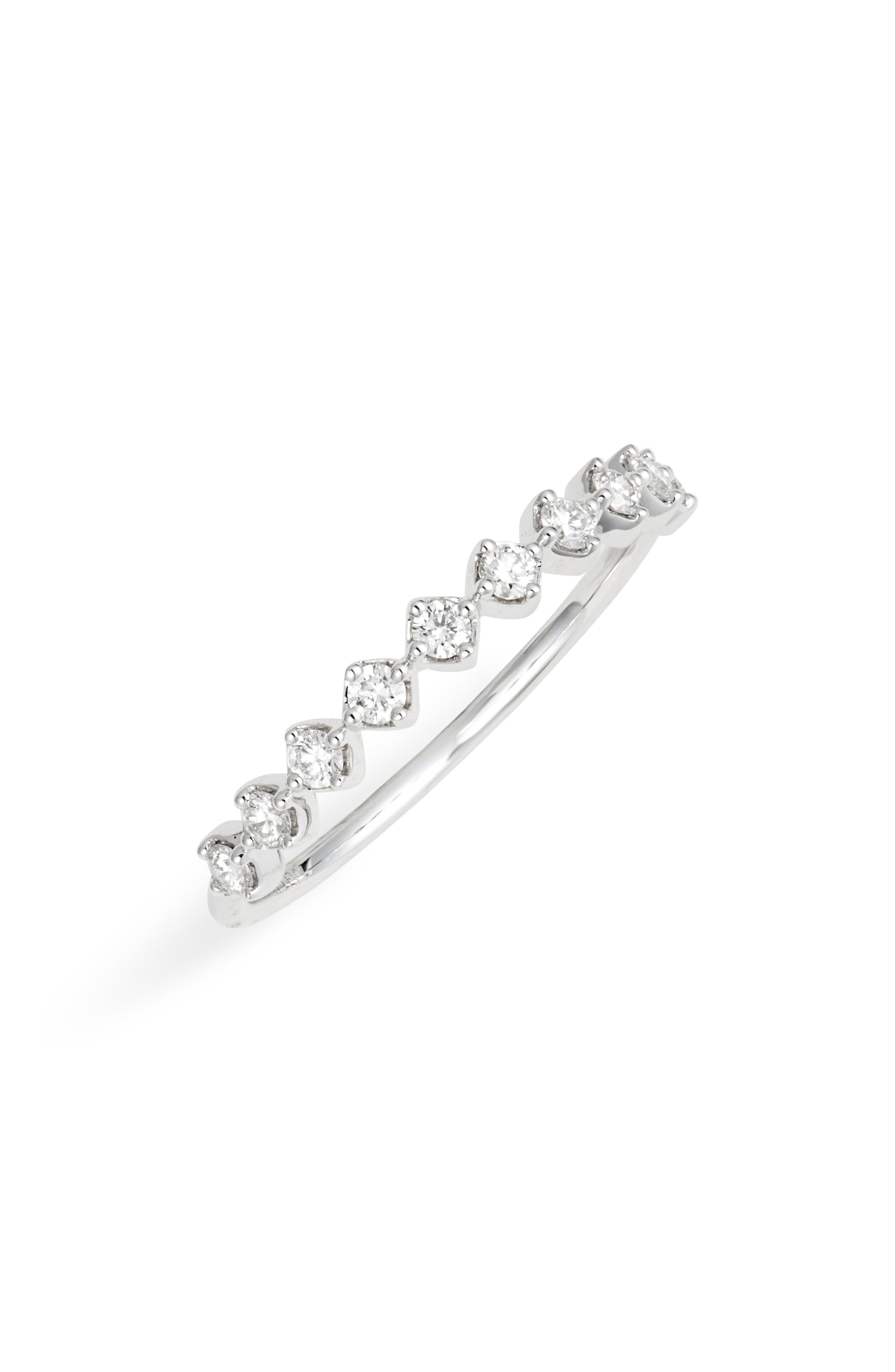 Bardot Collection Diamond Stackable Ring (Nordstrom Exclusive)