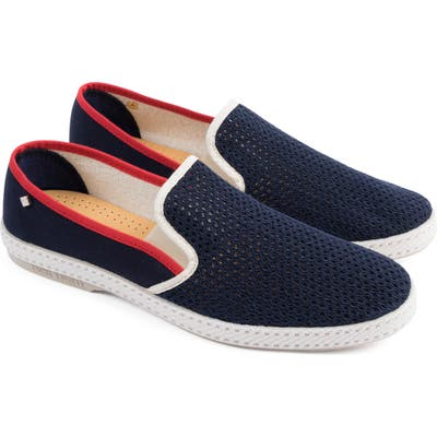 Rivieras Tour Du Monde Le Grand Bleu Slip-On Sneaker, Blue
