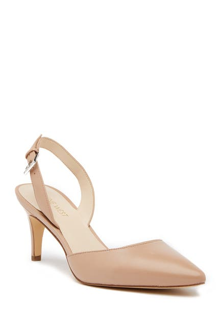 Image of Nine West Epiphany Slingback Leather Pump - Wide Width Available