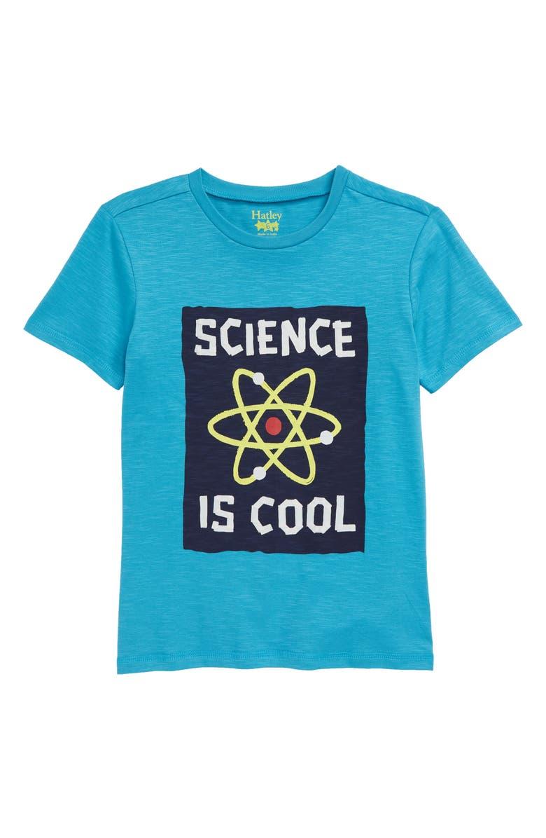 Hatley Cool Science T Shirt Toddler Boys Little Boys Big Boys
