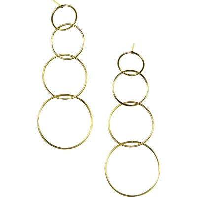 Jules Smith Quatro Hoop Earrings