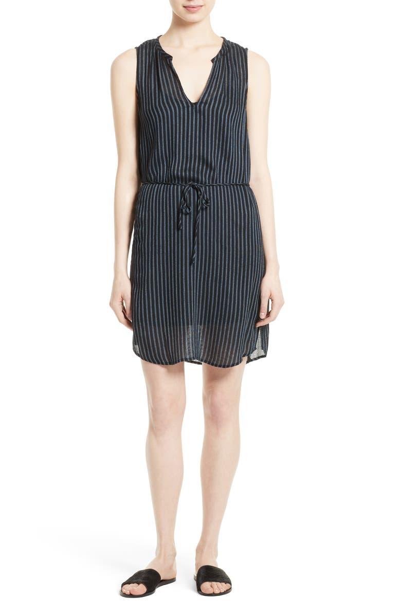 SOFT JOIE Bonnie Print Tie Waist Dress, Main, color, 005