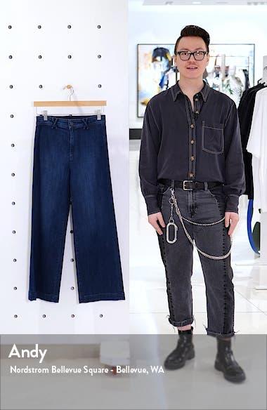 Transcend - High Waist Ankle Wide Leg Jeans, sales video thumbnail