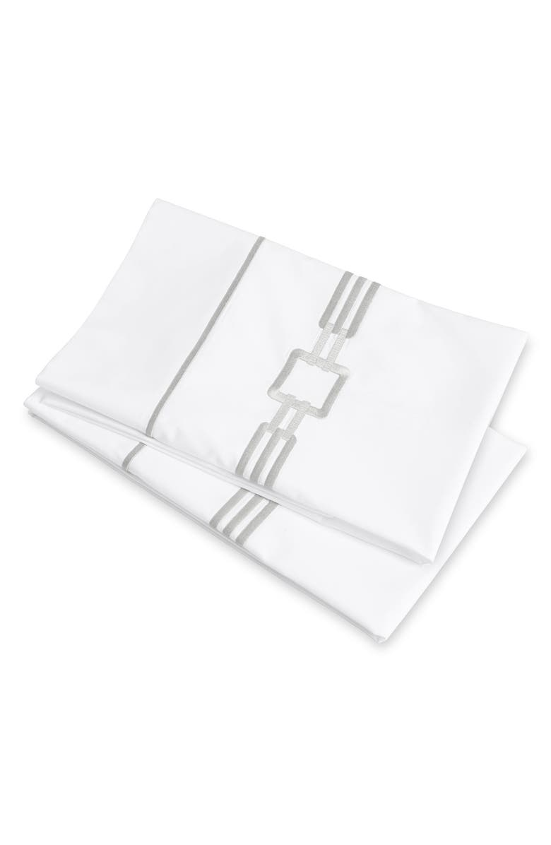 SIGNORIA FIRENZE Retro 600 Thread Count Set of 2 Pillowcases, Main, color, 250
