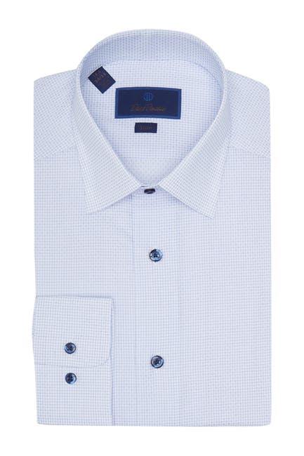 Image of David Donahue Slim Fit Dress Shirt