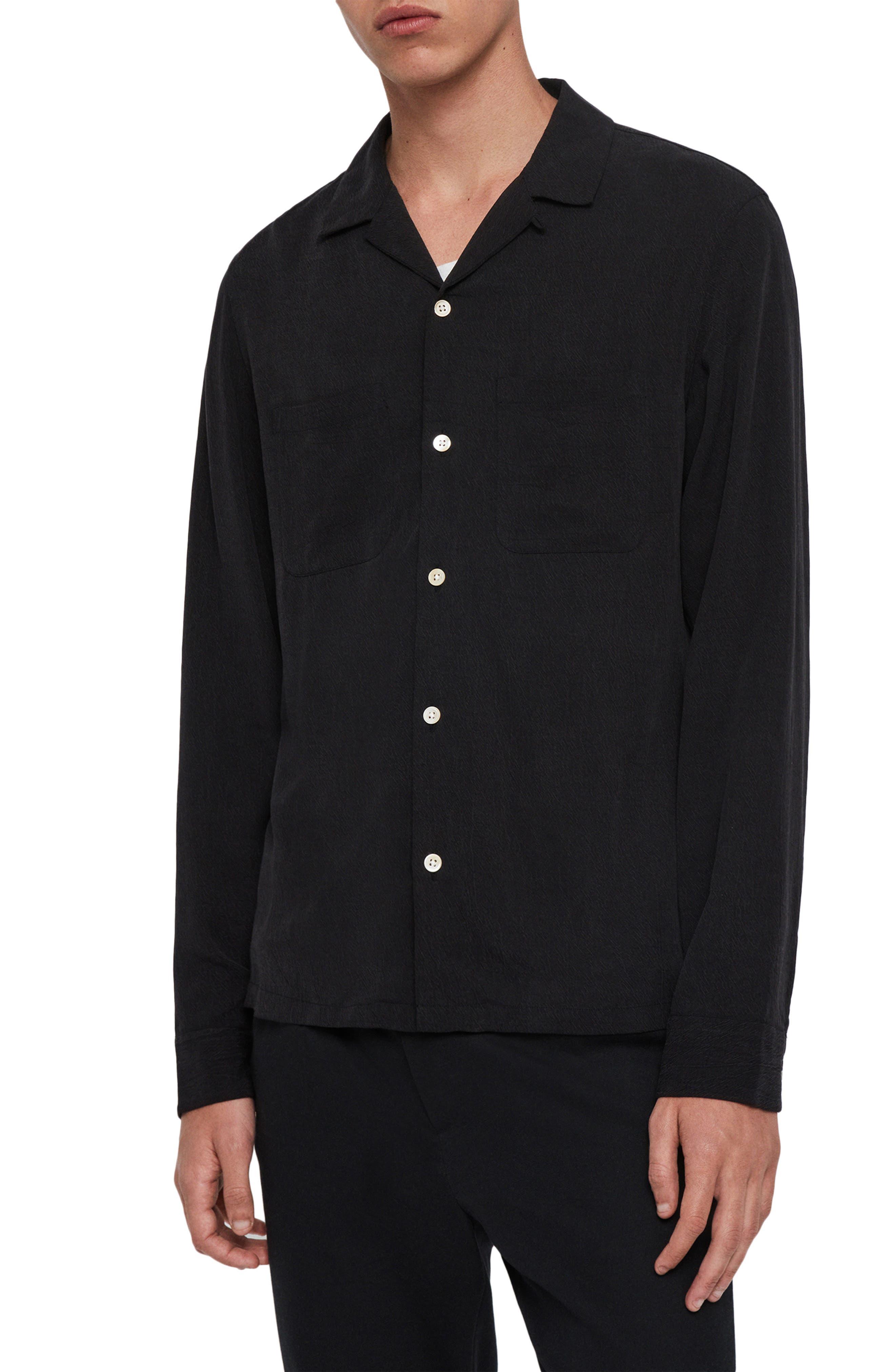 ALLSAINTS Palermo Slim Fit Button-Up