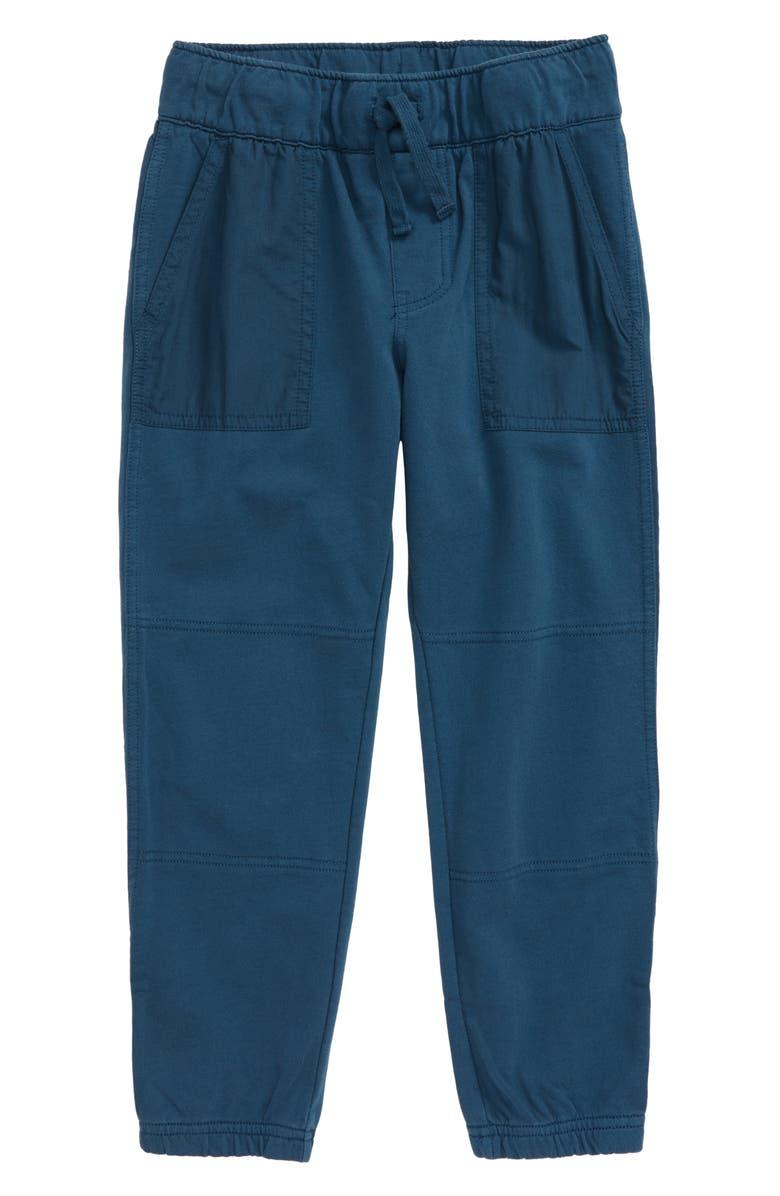 TEA COLLECTION Patch Pocket Jogger Pants, Main, color, BEDFORD BLUE