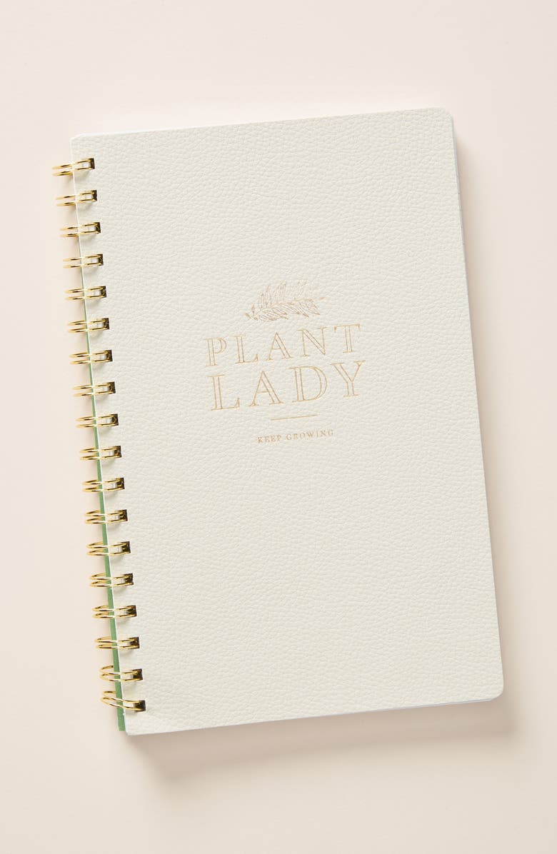 ANTHROPOLOGIE Plant Lady Notebook, Main, color, 250