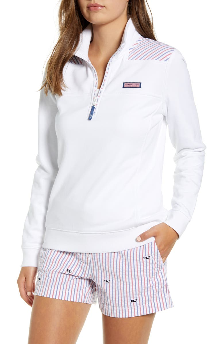 VINEYARD VINES Firework Seersucker Shep Pullover, Main, color, 100