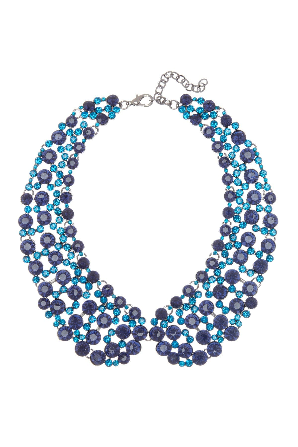 Eye Candy Los Angeles Blue Lady Collar Necklace at Nordstrom Rack