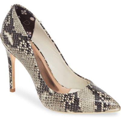 Ted Baker London Izibely Pointy Toe Pump - Ivory