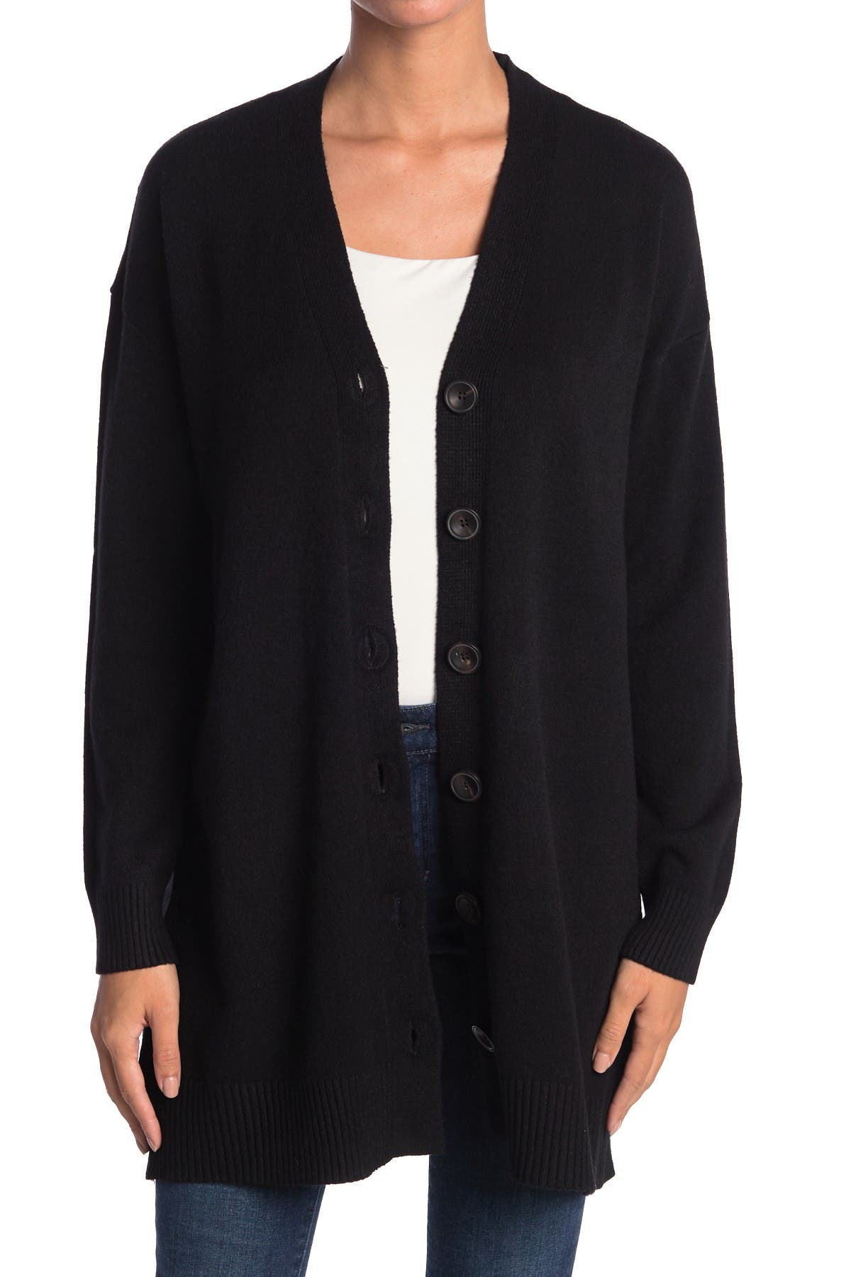 Image of Cyrus V-Neck Button Front Cardigan