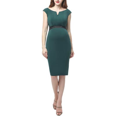 Kimi And Kai Lonnie Maternity Body-Con Dress