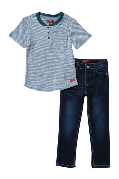 Matar tierra principal Gruñido  7 For All Mankind Kids' Clothing | Nordstrom Rack