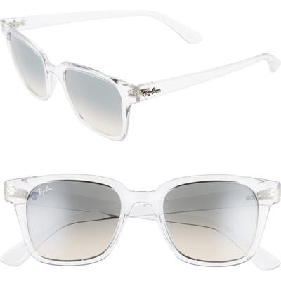 Ray-Ban 51Mm Classic Wayfarer Sunglasses - Clear/ Gradient Grey